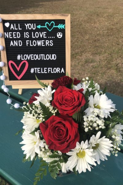Teleflora has a wonderful selection of floral arrangements in beautiful containers. Bouquets filled with red roses, Asiatic lilies, chrysanthemums and more that your significant other will love.