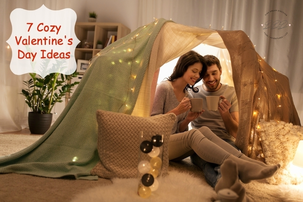 For some, the idea of a cozy, intimate Valentine's Day is more appealing than a night out on the town. Check out these cozy Valentine's Day ideas.