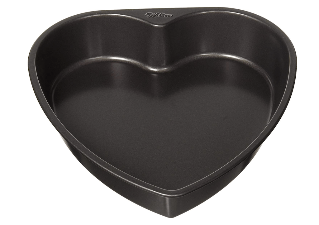 heart shaped cake pan
