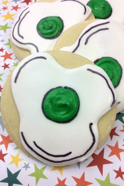 Happy Birthday Dr. Seuss! We're celebrating his birthday with Green Eggs and Ham cookies recipe.Do you like green eggs and ham? I do not like them, Sam-I-Am. I do not like green eggs and ham.