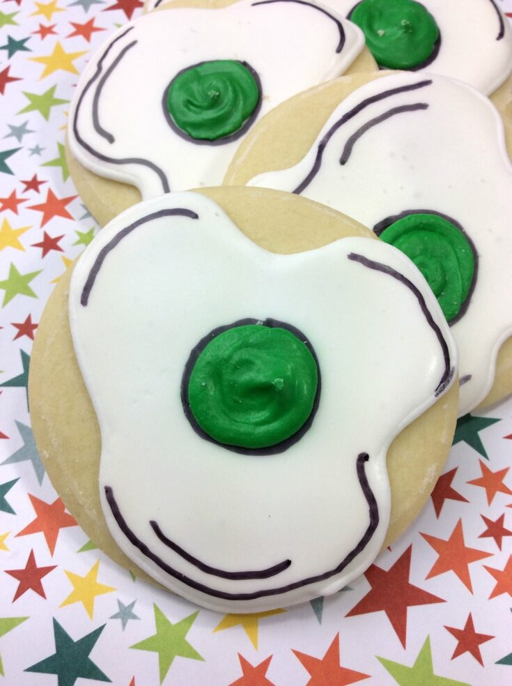 Dr. Seuss Green Eggs and Ham Cookies Recipe