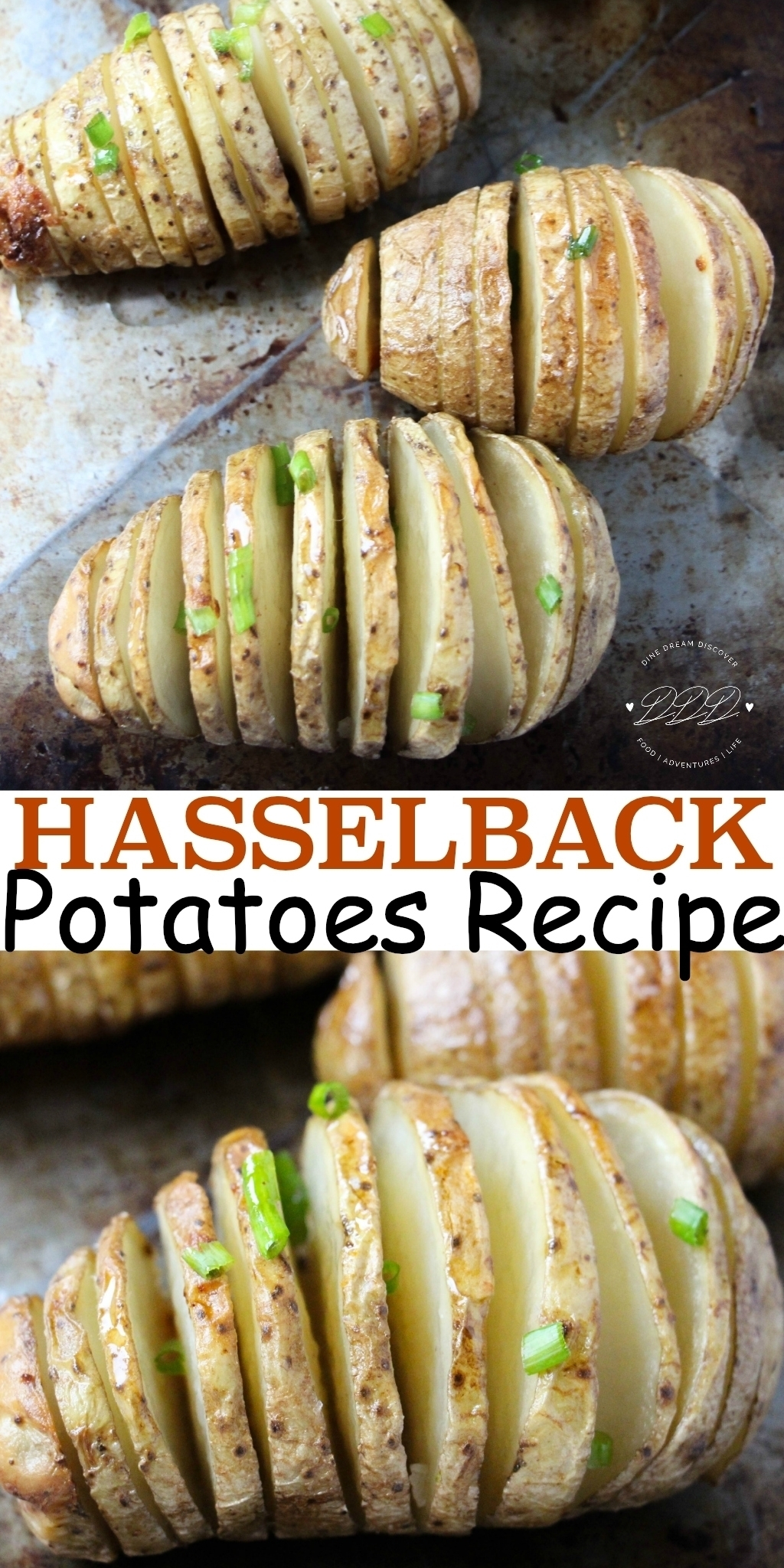 TheHasselback Potatoes Recipe is the perfect addition to any meal. A delicious buttery potato seasoned just right. Add cheese and sour cream to top it off.