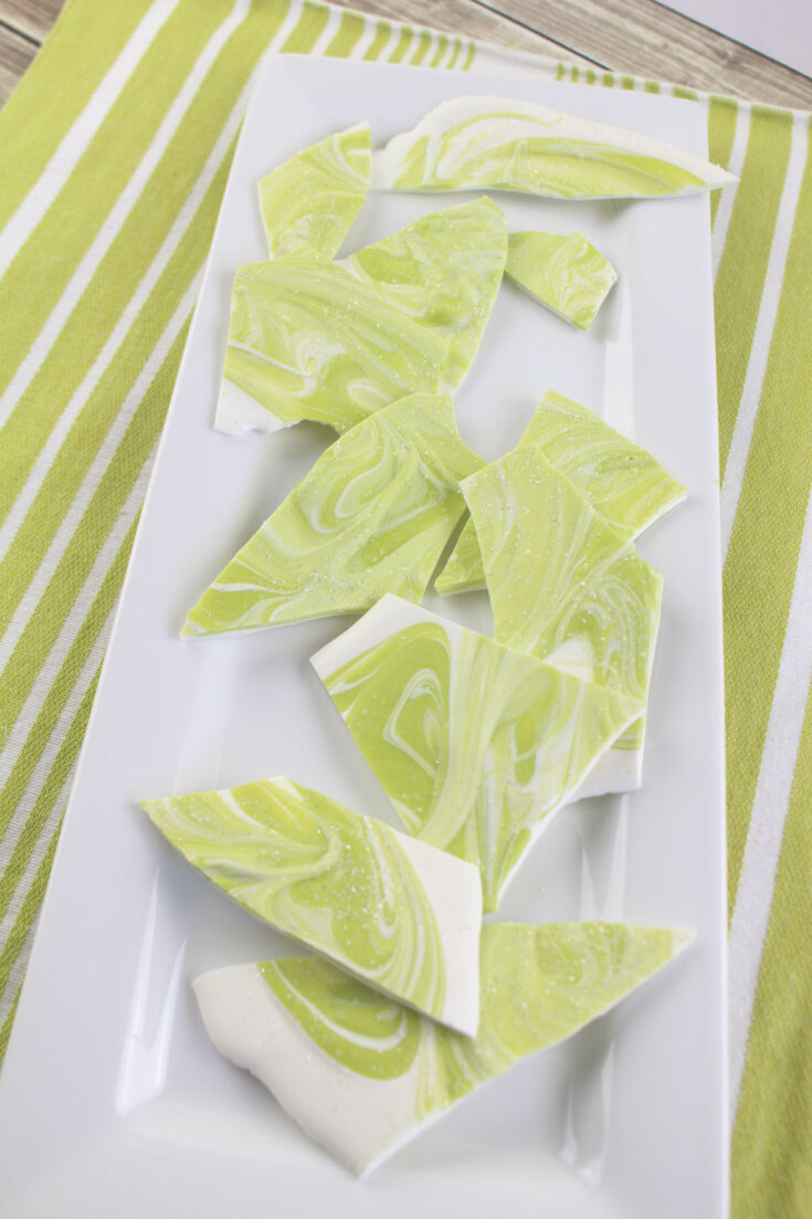 MOUTHWATERING MARGARITA BARK TEQUILA CANDY