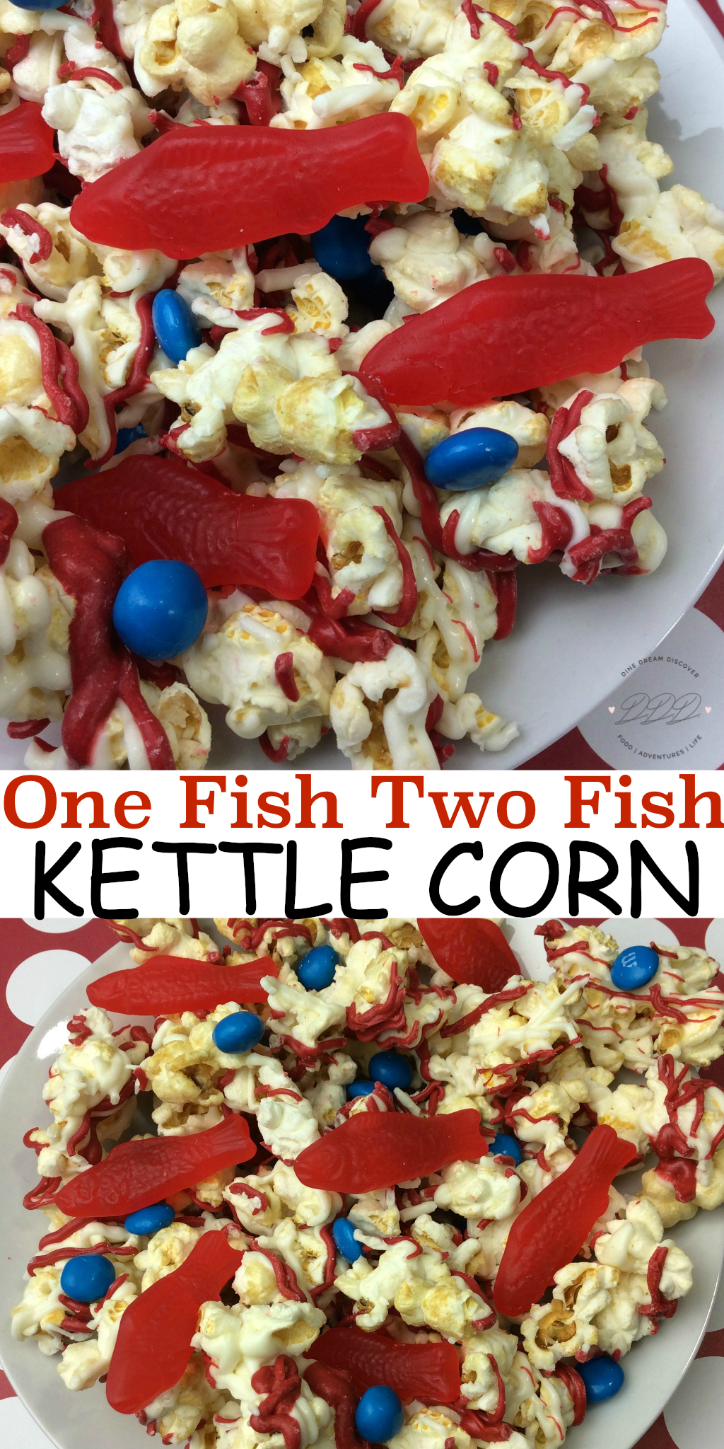 Whether we are sharing One Fish Two Fish Dr. Seuss Kettle Corn <a href=