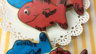 RED FISH BLUE FISH DR SEUSS COOKIE RECIPE