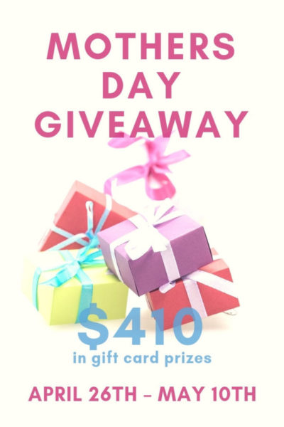 Dine Dream Discover has teamed up with a group of bloggers to bring you this awesome giveaway for $410 in Gift Cards for you or someone you know.
