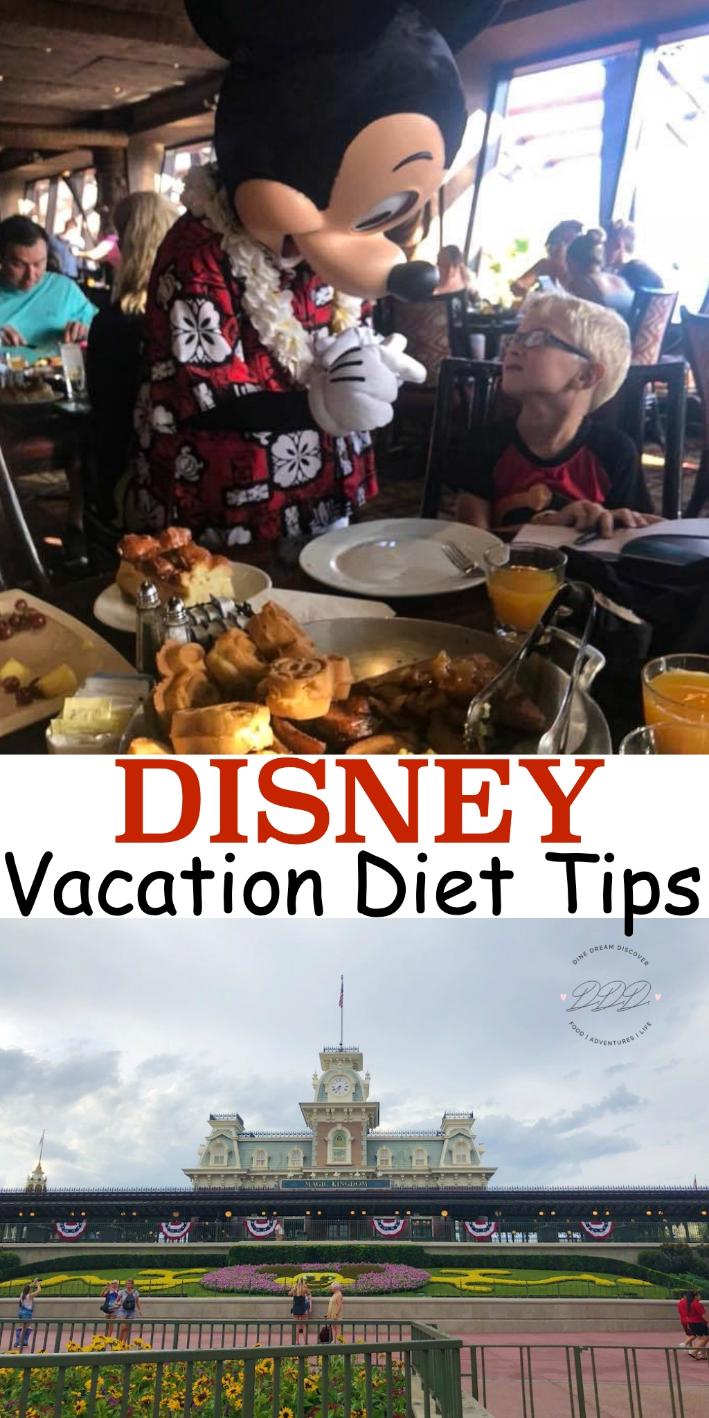 Dieting at Disney World, no matter what diet you are on, can be managed with very low effort. Here are some easy to follow Disney vacation diet tips.