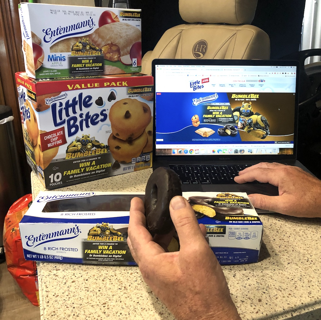 Entenmann's® Little Bites® and BUMBLEBEE have partnered to bring you the chance to win a vacation for 4 to Myrtle Beach and a Visa eGift Card.