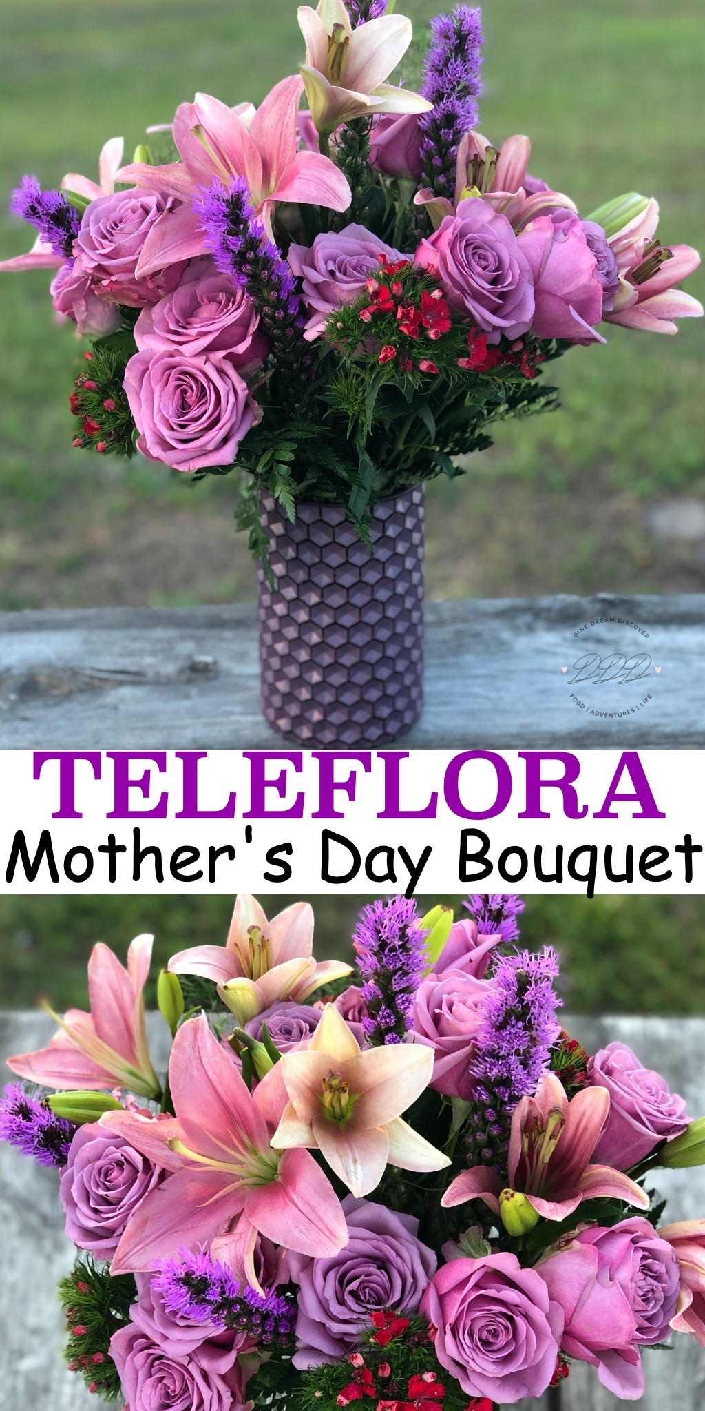Teleflora Mother's Day bouquets are the way to celebrate the woman has been there for you through good and bad events and given countless hugs and support. Ad #Teleflora #LoveOutLoud #MothersDay #DineDreamDiscover #JustPlumCrazy #flowers #MothersDayGift #HappyMothersDay #Family #Mother #Beautiful #Gift #Mom #Love