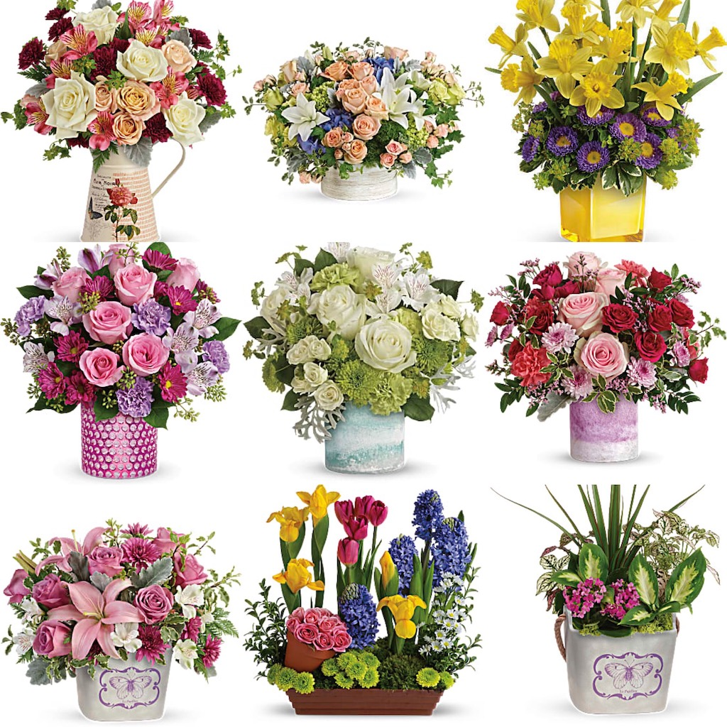 Mother's day bouquets to choose from