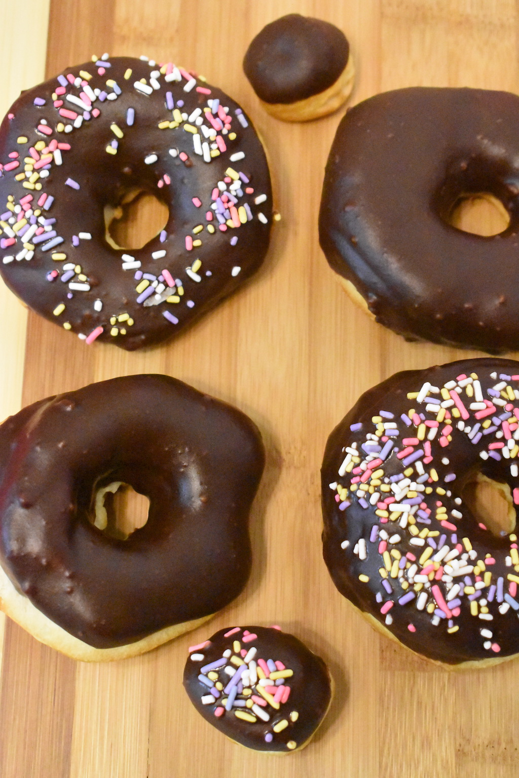 Our easy Chocolate Frosted Air Fryer donuts recipe is perfect for an afternoon snack. Easy and yummy chocolate frosted is the perfect combination.