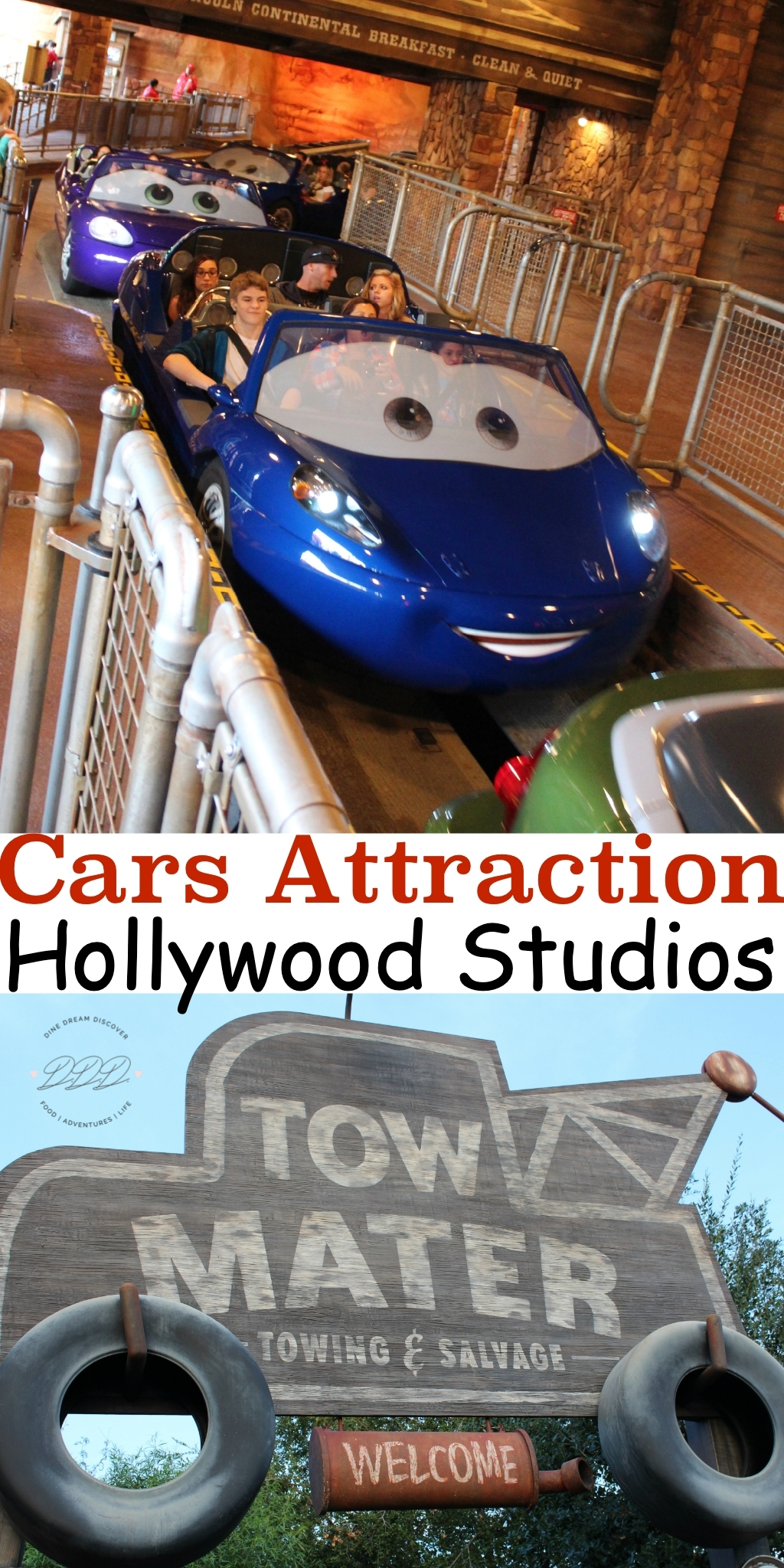 Hollywood Studios is one of my favorite Disney World parks. A new Cars attraction has opened!  Here is what you should know about this ride…