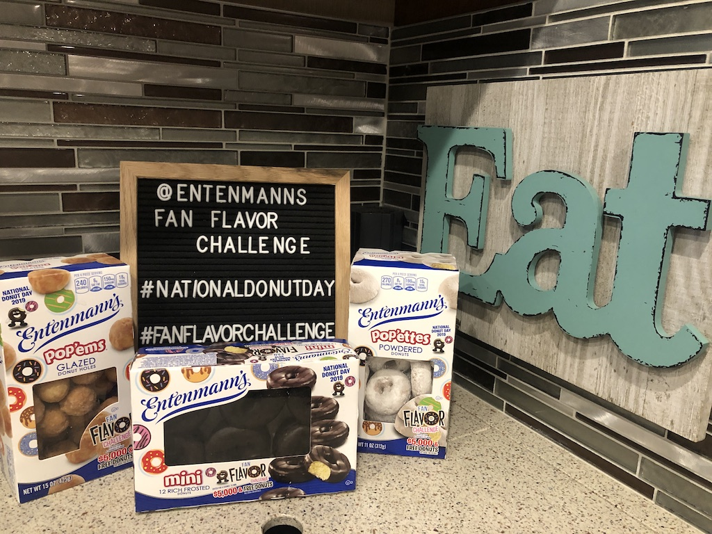 Entenmann's® is sponsoring their Fan Flavor Challenge where you can win $5000. Create the ultimate donut just like our Chocolate Frosted Air Fryer Donuts recipe and you could win!