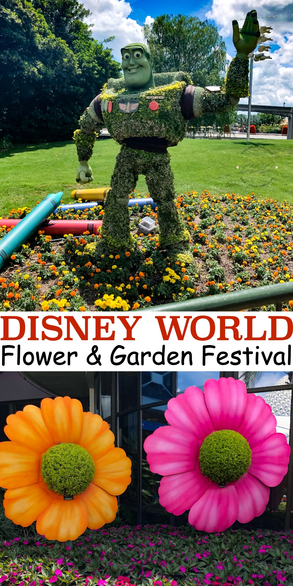 The International Flower and Garden Festival at Epcot is the perfect picture of spring. It's also an event that highlights the beauty of Disney horticulture.