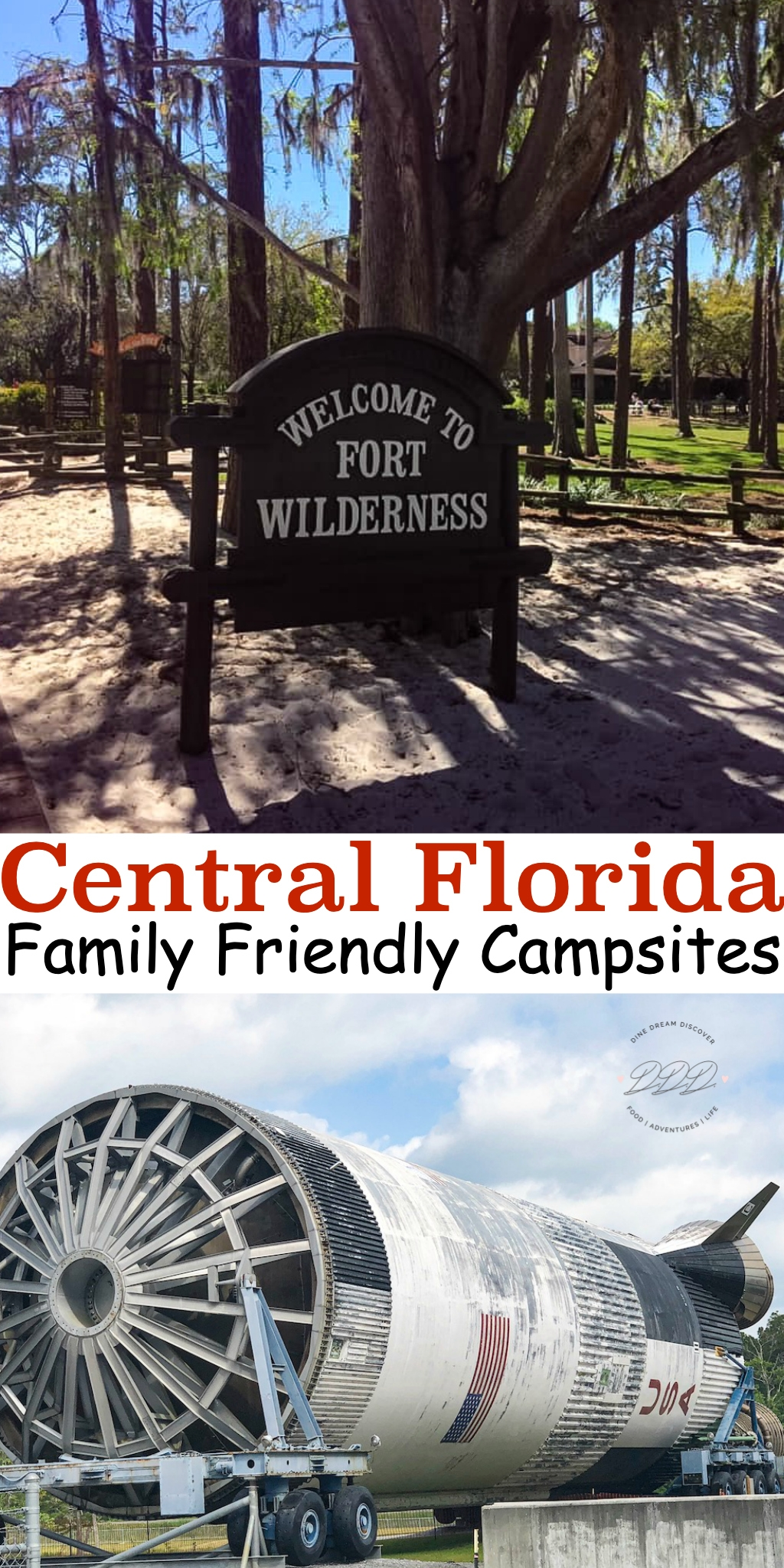 If you're looking for an amazing place to camp in central Florida, you need to check out these five awesome family-friendly campsites.