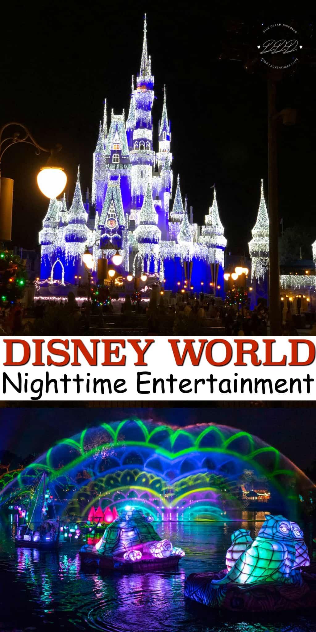 Disney World Nighttime Entertainment