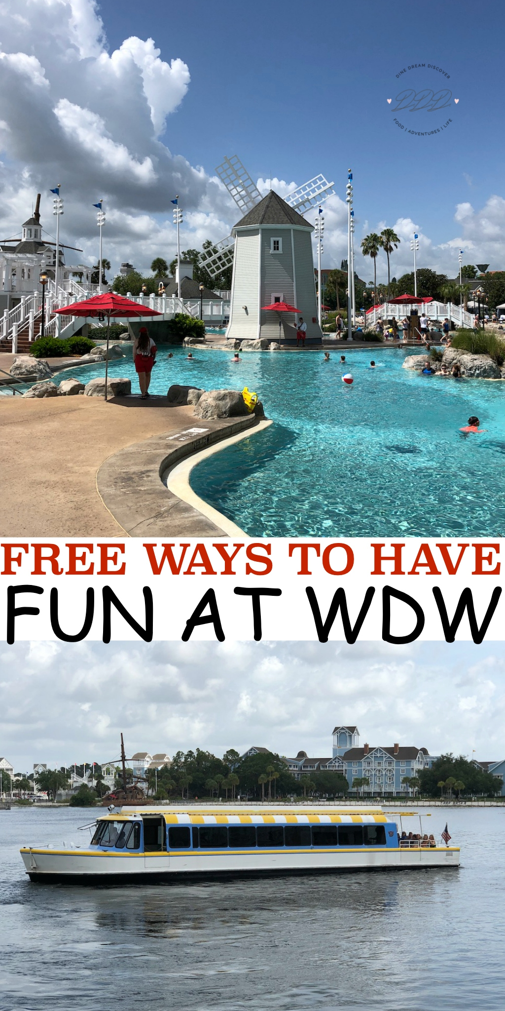 We have ideas on how to fill your time while keeping your pockets full too! Read on for FREE ways to have fun at WDW.