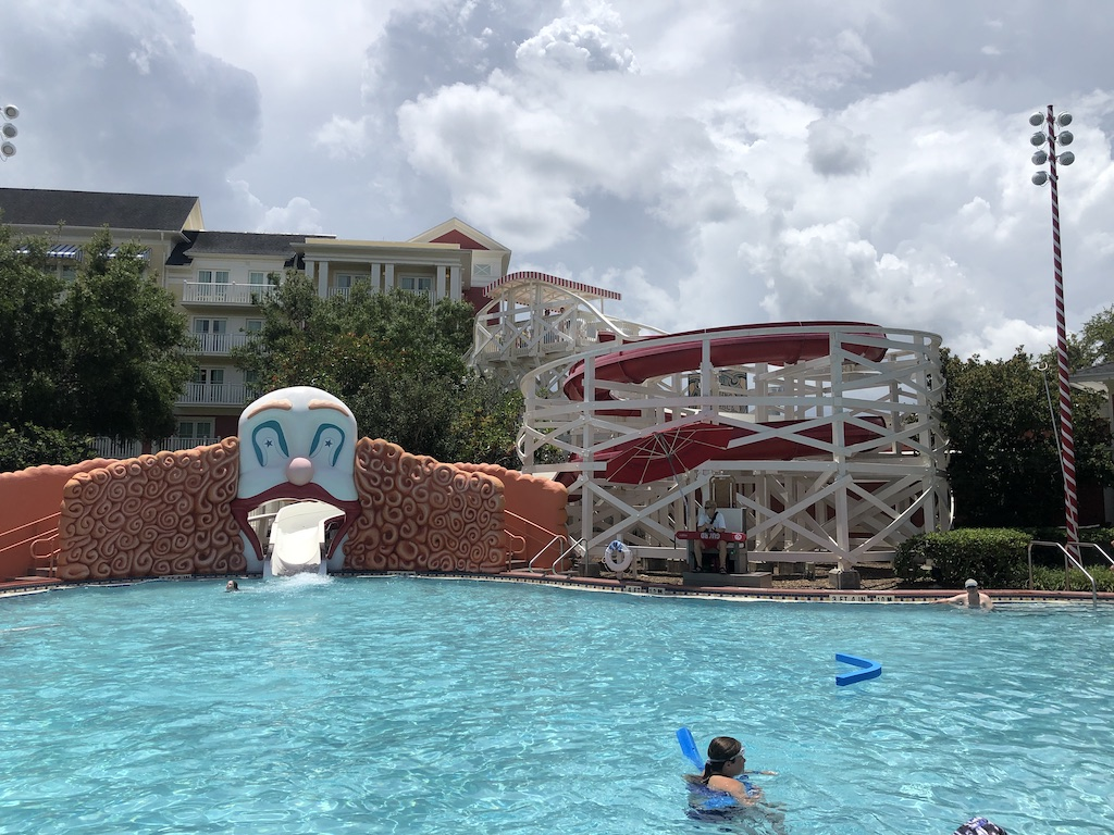 disney boardwalk swimming pool