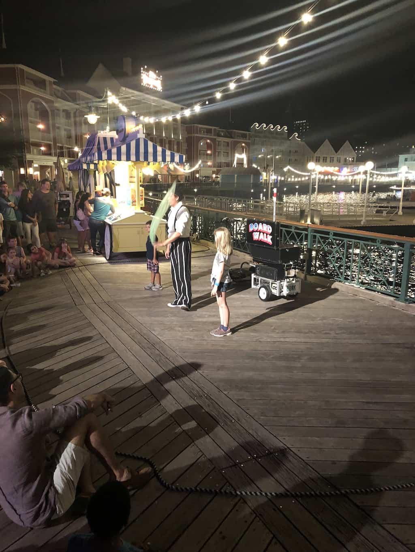 magicians at disney boardwalk