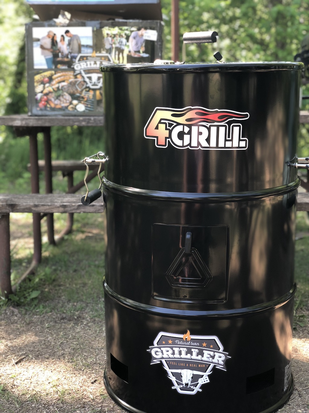 4grill complete with stickers