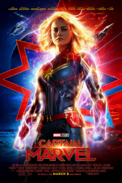 Who's the most powerful hero in the universe? Carol Danvers of course. Don't forget Goose the cat who steals the scene more than once. CAPTAIN MARVEL movie is a must see.