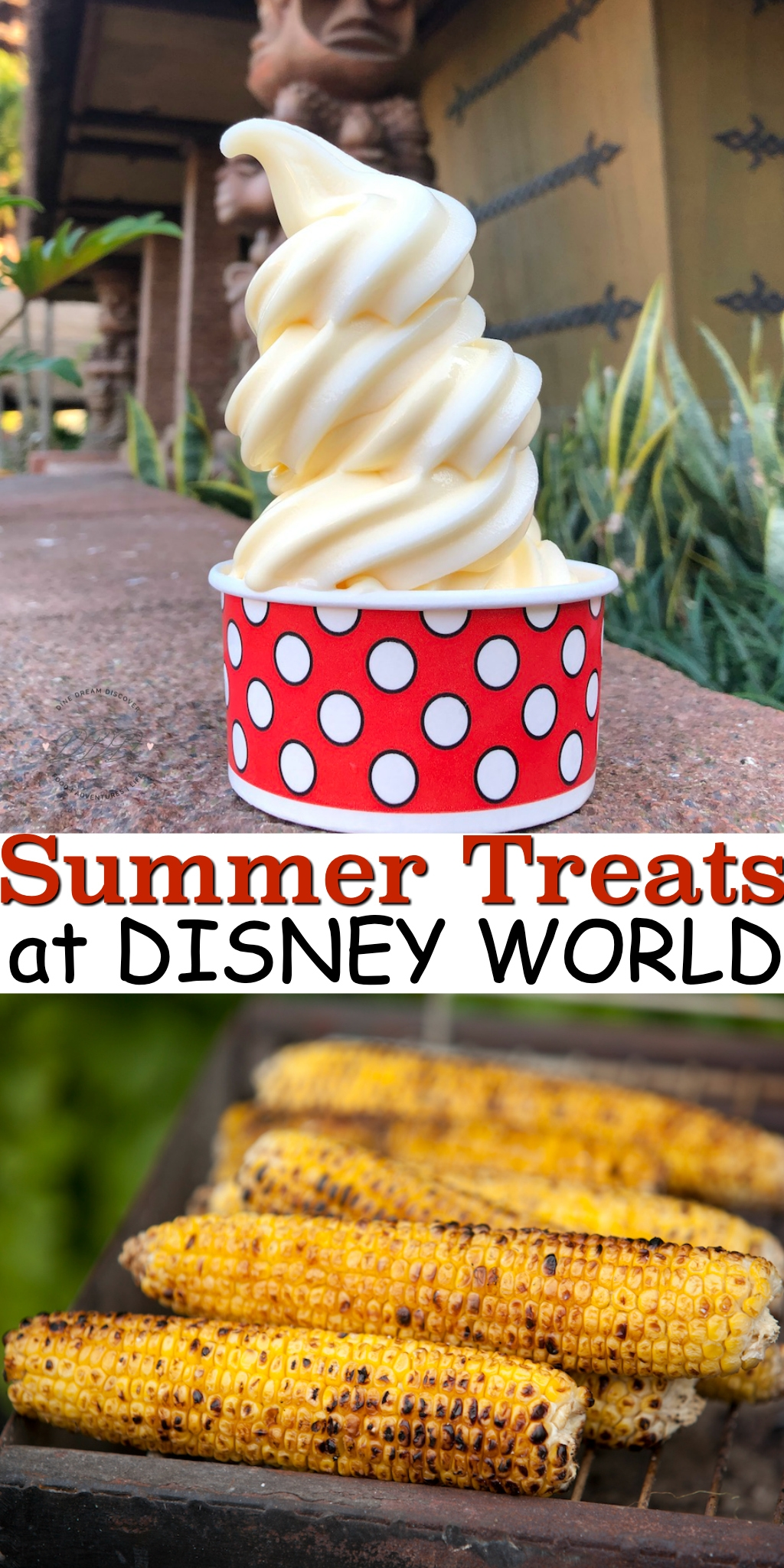 Whether you're looking for a refreshing cool treat or a savory snack, you won't be disappointed with our current favorite summer treats at Disney!