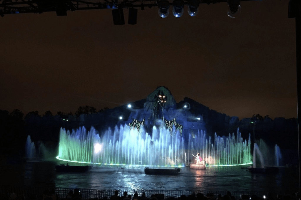 Disney Hollywood Studios fantasmic