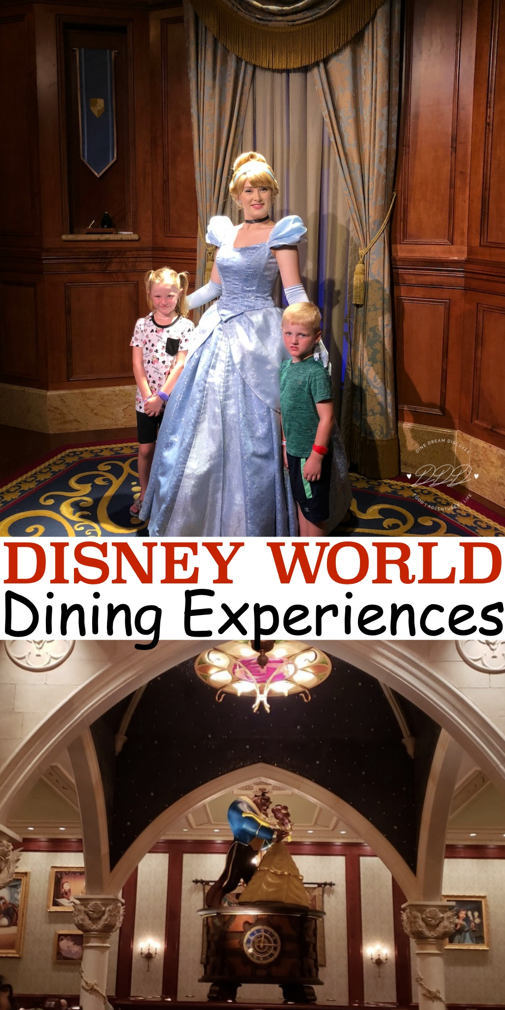 There are so many dining experiences at Disney World Parks whether it is a quick service dining trip, formal sit down dining, or even Character meals.