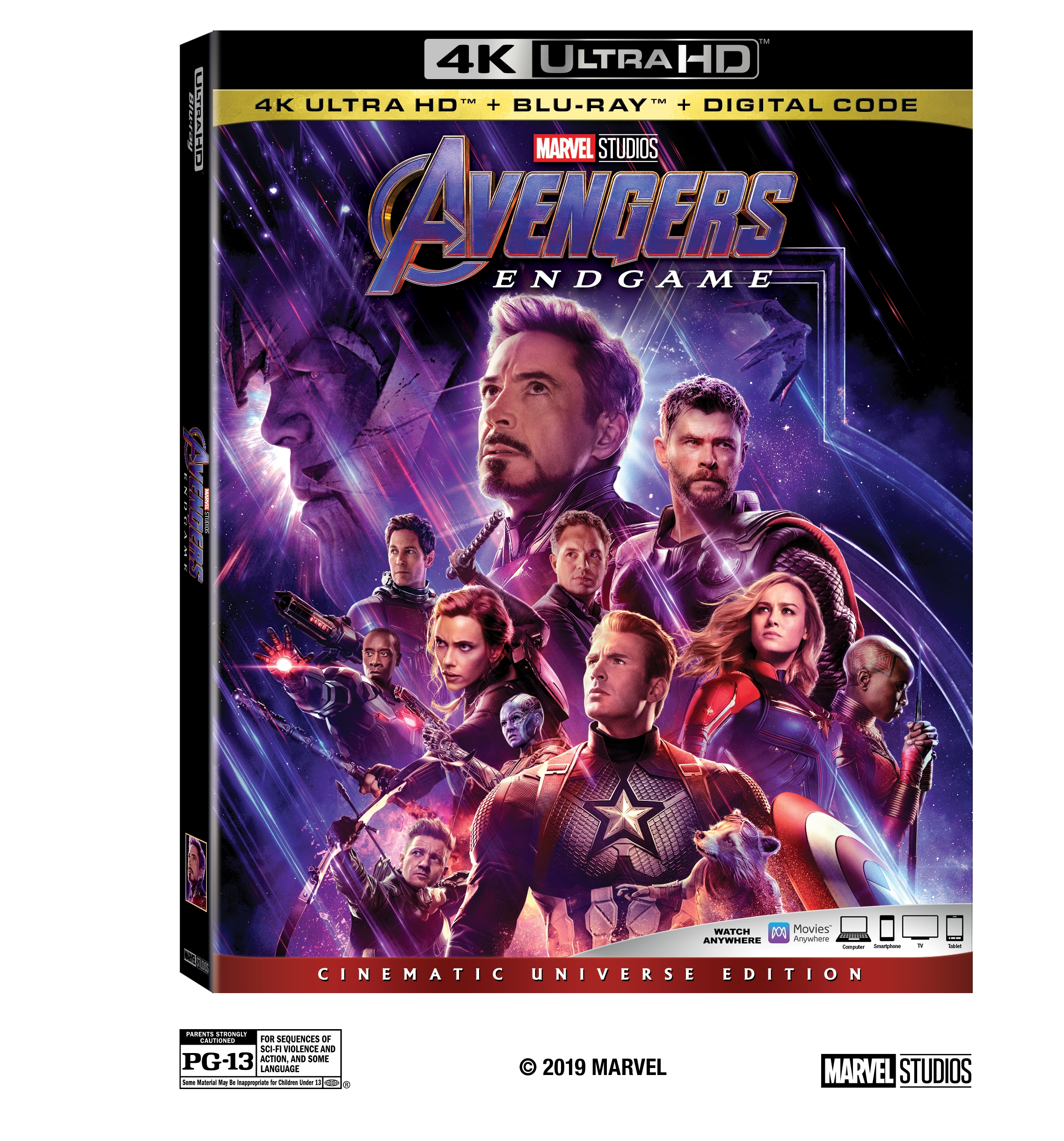 After 11 years, Avengers is finally coming to an end with the release of AVENGERS: ENDGAME on Digital on July 30th and BLU-RAY™ on AUG. 13!