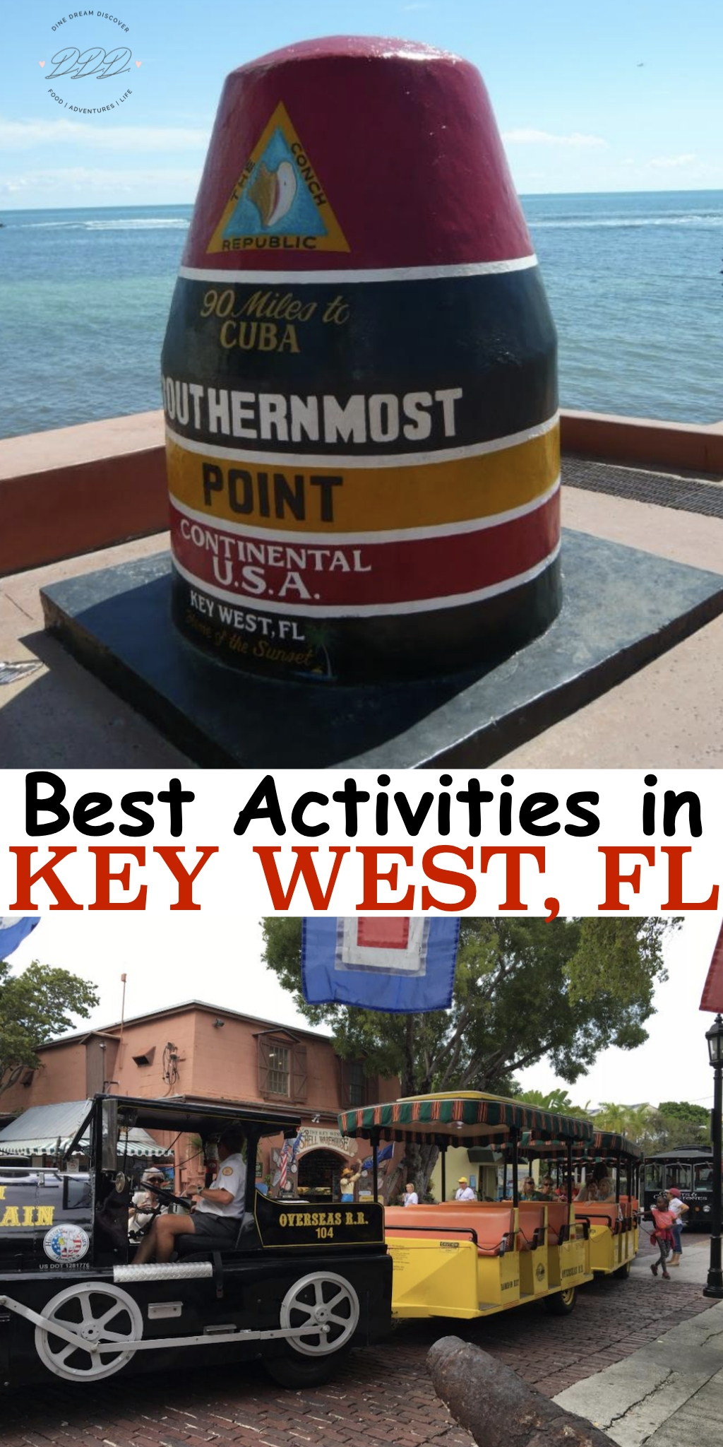 Key West is the most laid back artsy destination you can choose for vacation from walking on the beach to practicing your golf swing and visiting museums.