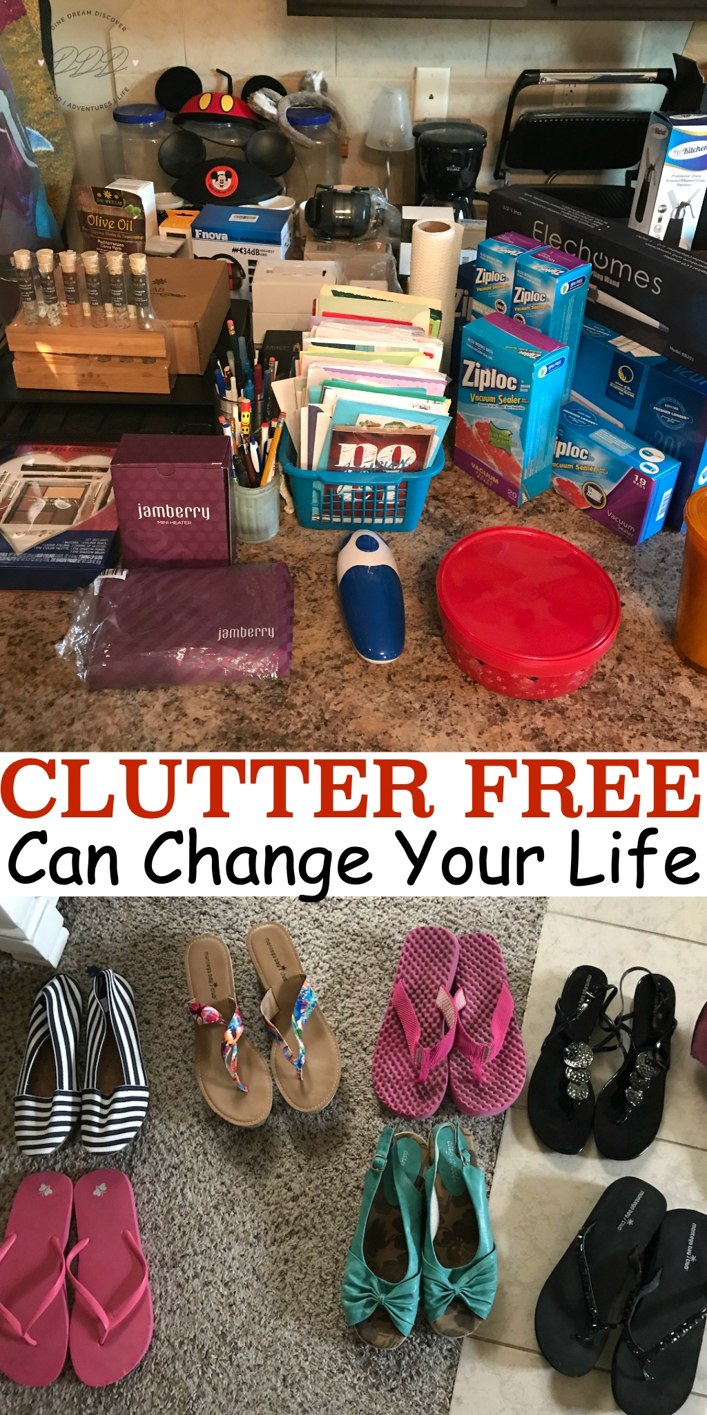 Just as traffic and roadblocks can leave you feeling stressed, so can clutter in your home. Easily reduce stress and live clutter free with these tips.
