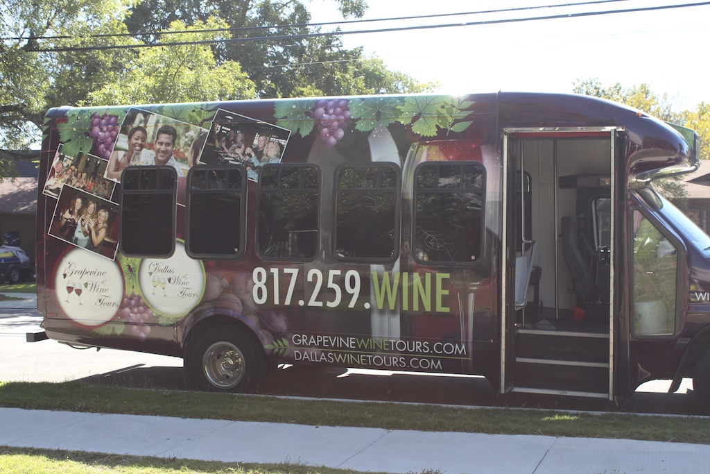 wine tour grapevine tx