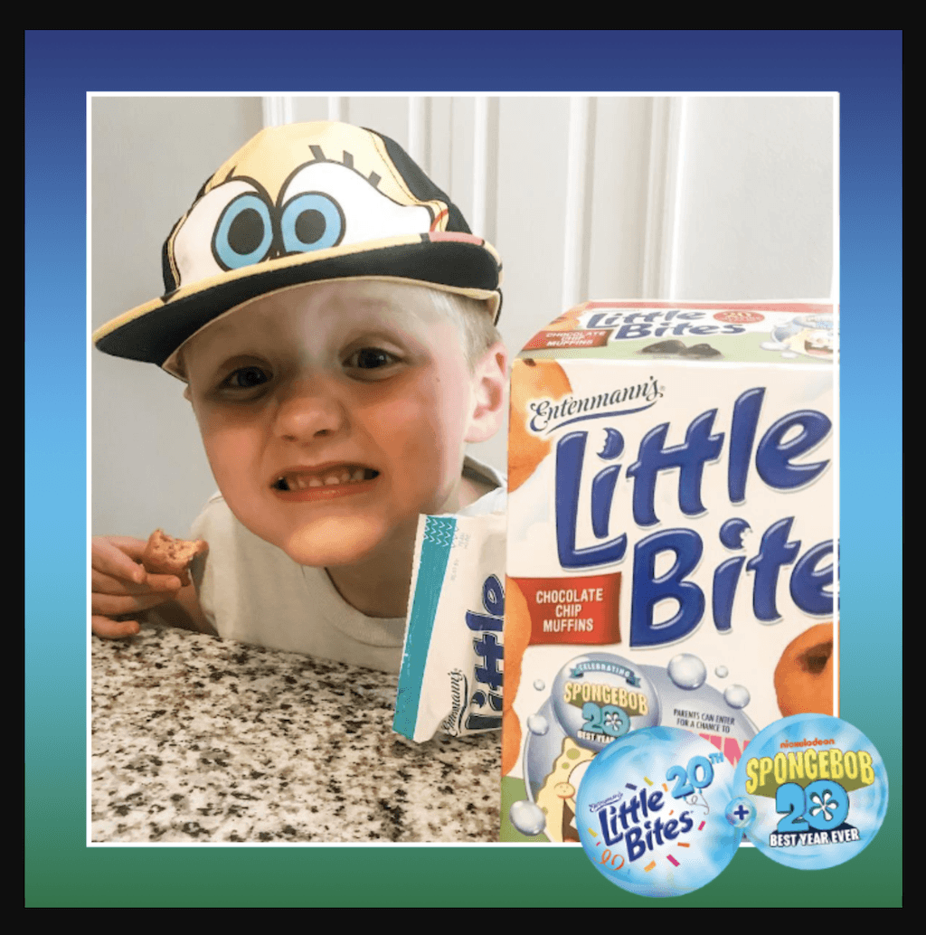 Turning 60 this year isn't as fun as Entenmann's® Little Bites ® and SpongeBob celebrating 20 years with the Super Spongebash Celebration Sweepstakes!