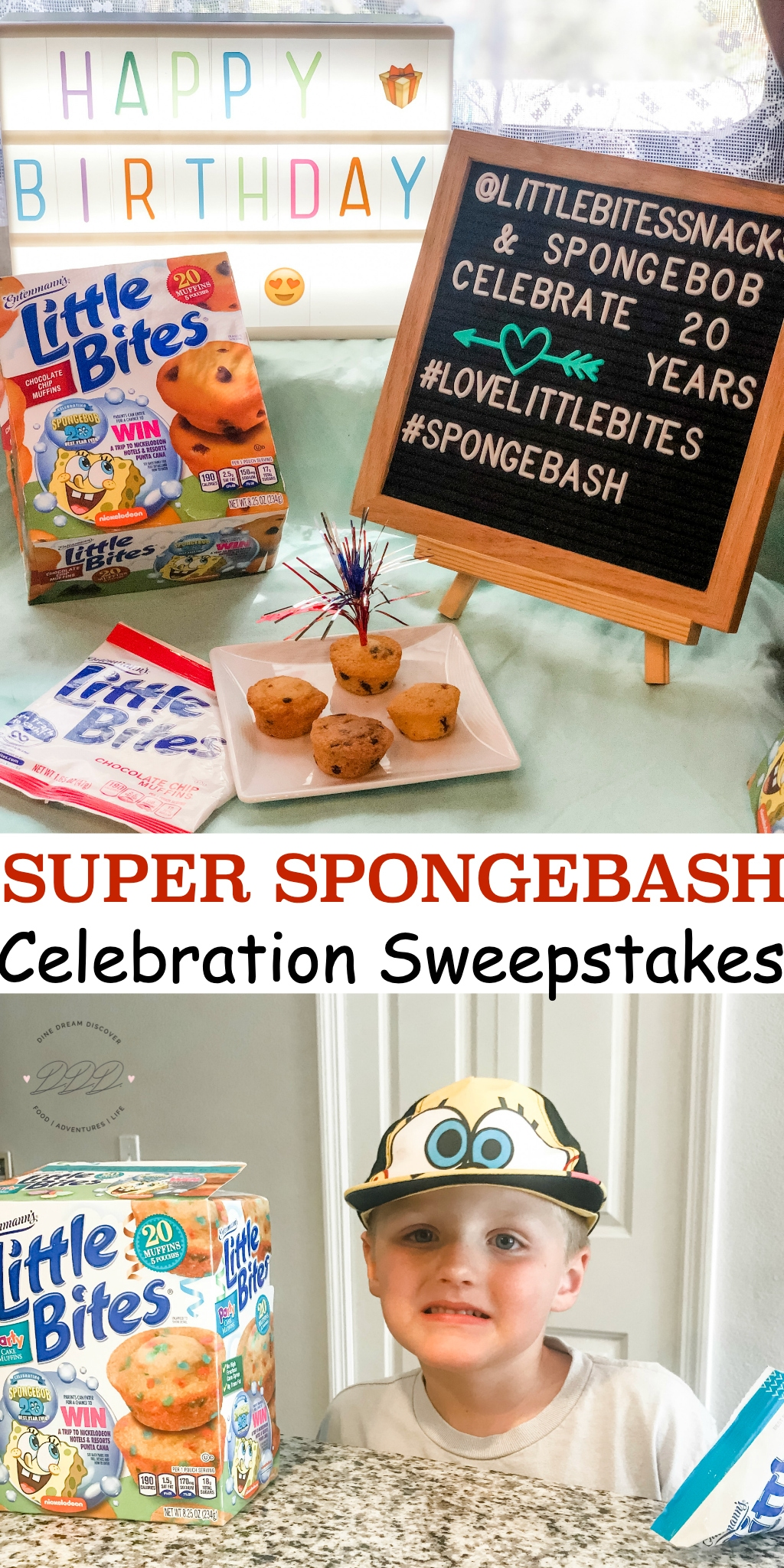 Super Spongebash Celebration Sweepstakes