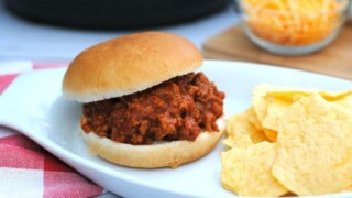 Instant Pot Turkey Sloppy Joes - Weight Watchers 3 Smart Points with Bun