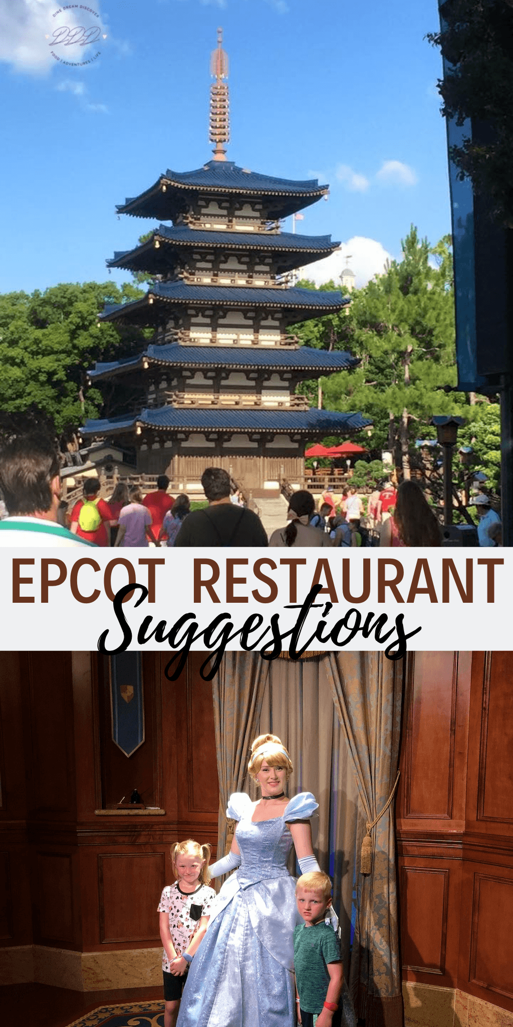 Based on the path you might map out for yourself, here are some Epcot restaurant suggestions for meals throughout your day.