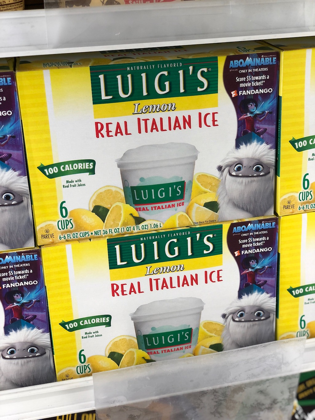LUIGI'S Real Italian Ice is teaming up with #AbominableMovie to bring sweet surprises this summer to help you save with a $.50 OFF coupon!