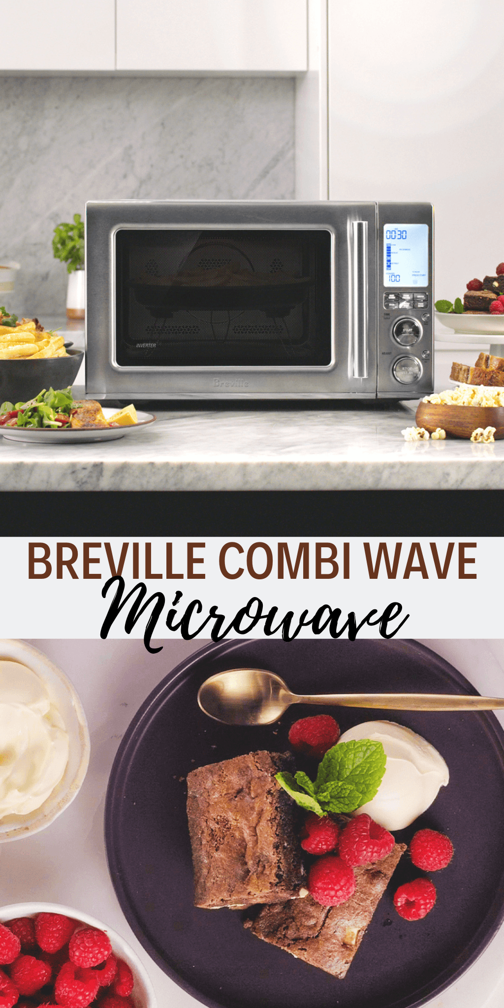 Everyone wants an Air Fryer and Breville has made it easy with their Combi Wave 3-in-1 Microwave at Best Buy. A convection, microwave and Air Fryer.