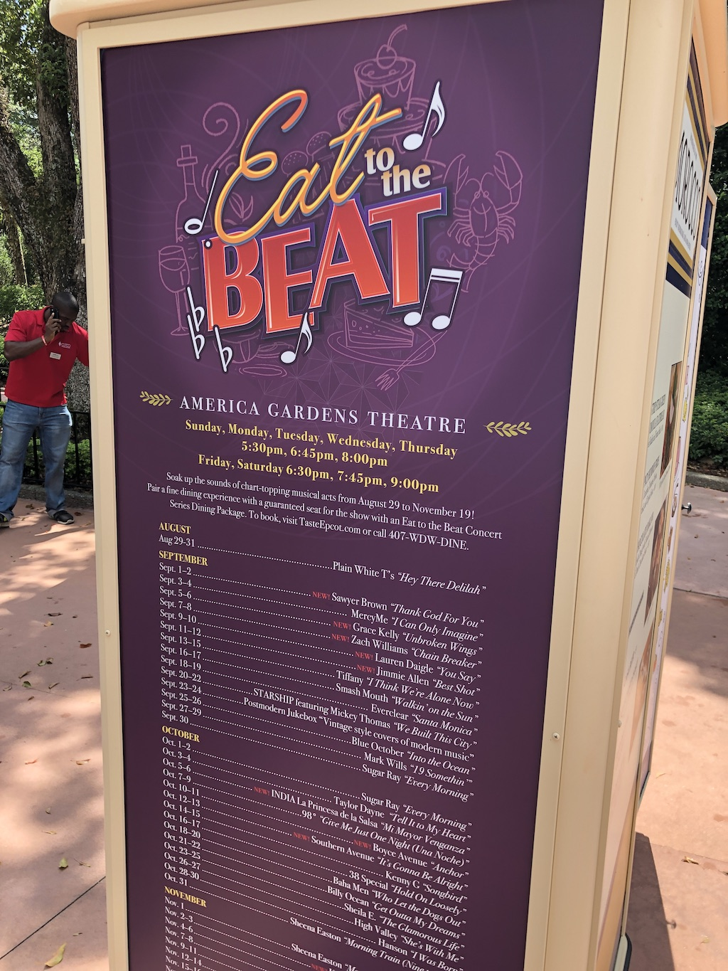 eat to beat at epcot food and wine festival