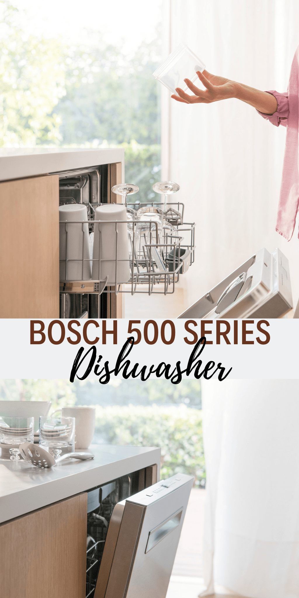 Only the Bosch 500 Series Dishwasher with AutoAir from Best Buy opens the door at the end of the cycle to let moisture escape! And has a sanitize option!