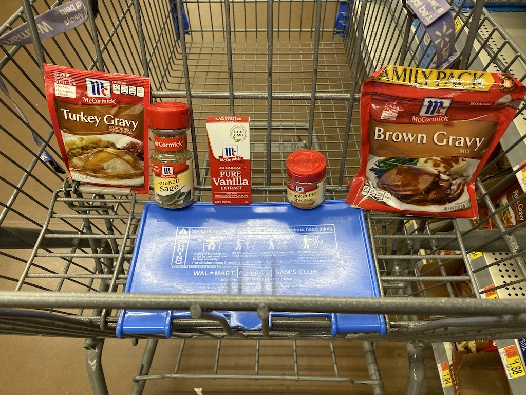 holiday traditions mccormick spices at walmart