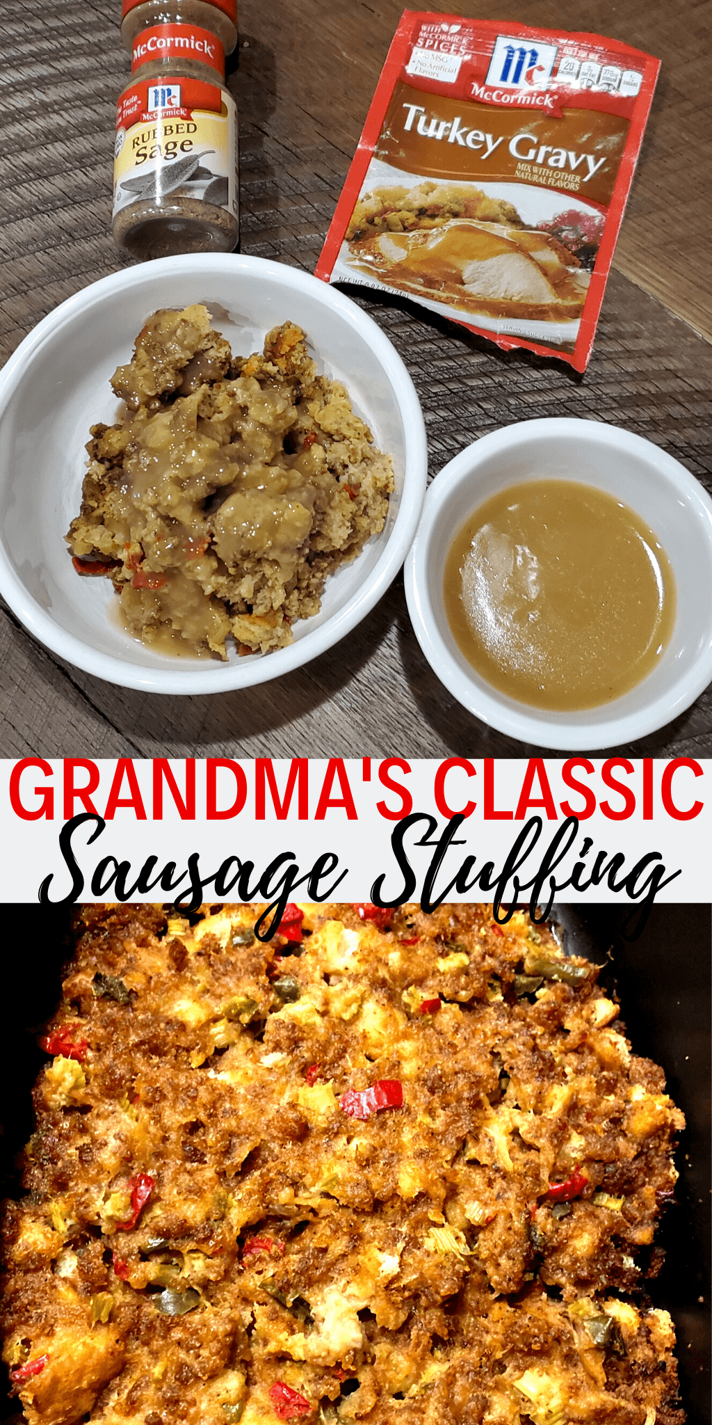 sausage stuffing holiday traditions