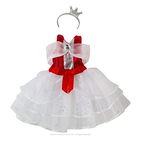 Exclusive 2017 The Elf on the Shelf Claus Couture Collection Peppermint Princess Gown
