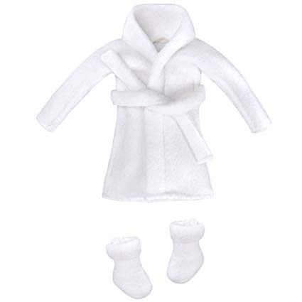 E-TING Santa Couture Clothing for elf (Bathrobe) Doll is not Included
