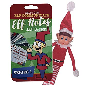 Elf Doctor ELF Notes: Elf Accessories - Educational Activity Notes for Your Favorite Christmas Elf - Pack of 30