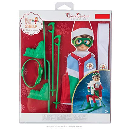 Exclusive 2017 The Elf on the Shelf Claus Couture Collection Arctic Ski Set