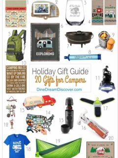 campers gift guide