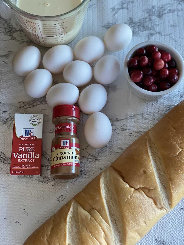 eggnog casserole ingredients