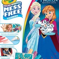 Crayola Color Wonder Frozen Coloring Book