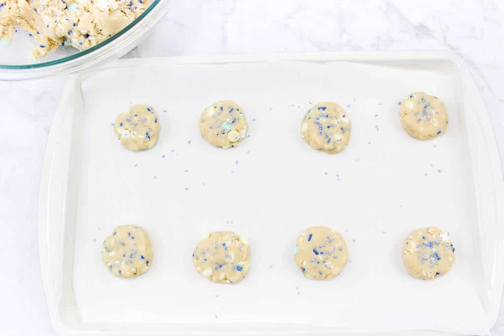 press down cookies